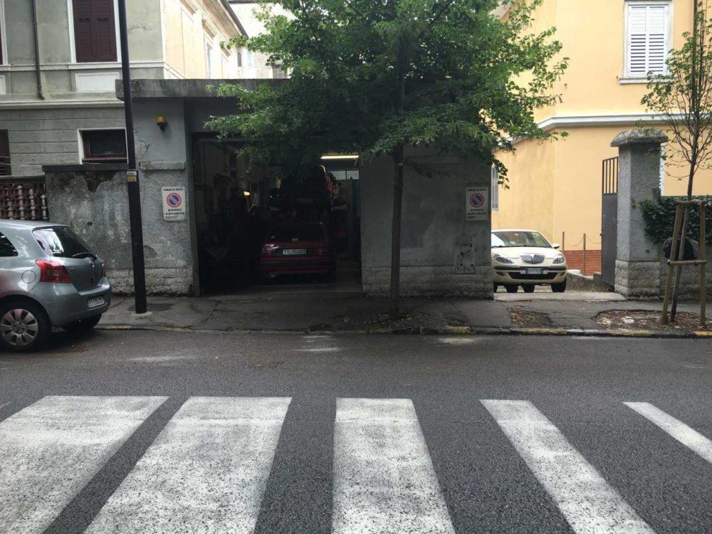 Garage / Posto Auto Industriale/Artigianale in vendita – via rossetti 91 Trieste